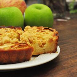 酸甜法式蘋果塔-六吋