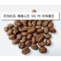 半磅入尼加拉瓜 極高山豆 SHG PB 珍珠圓豆