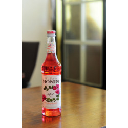 MONIN果露糖漿-玫瑰700ML